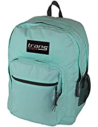 Trans By JanSport SuperMax Backpack With 15 Laptop Sleeve Aqua Dash