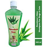 Rossloza Aloe Vera Dog and Cat Pet Shampoo, 500 ml