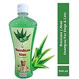 Rossloza Aloe Vera Dog and Cat Pet Shampoo, 500 ml