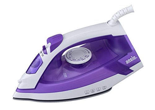 lightweight-steam-iron-with-ceramic-soleplate-3m-10ft-power-cord-200ml-water-tank-2-years-guarantee-