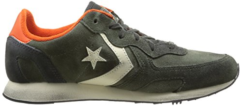 Converse Auckland Racer Ox Suede, Chaussures de Gymnastique mixte adulte Thyme Green/Loden Green