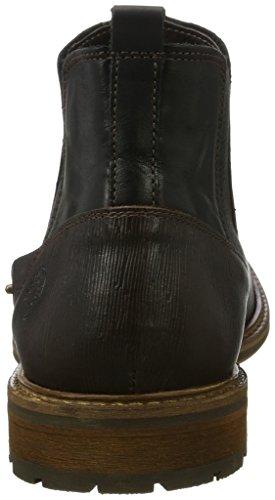BULLBOXER Herren 5551a Chelsea Boots Schwarz (Black)