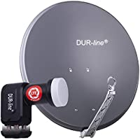 DUR-line Set antenna satellitare Select 75/80[LNB, commutatore]