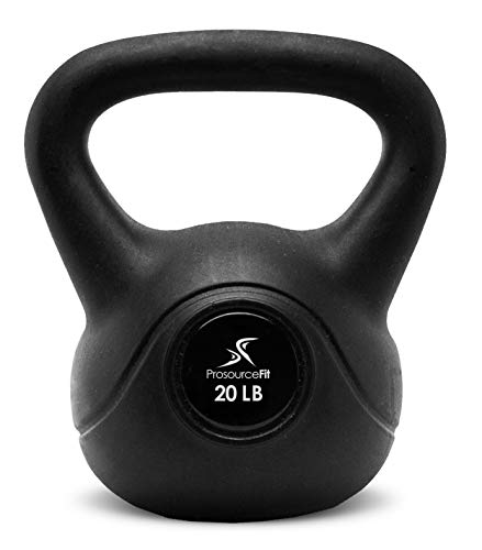 lebell Gewichte für Full Body Workouts, 10bis 35Pfund, Black-20Lbs ()