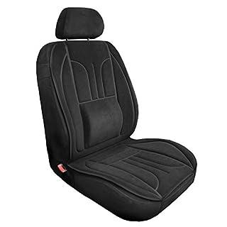 Auto-Dekor gsmarkt | 1Stk. Universal Schwarz Sitzschoner Sitzbezug Schutzabdeckung Sitzaufleger Expert
