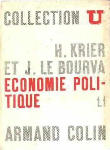 Economie politique. tome I.