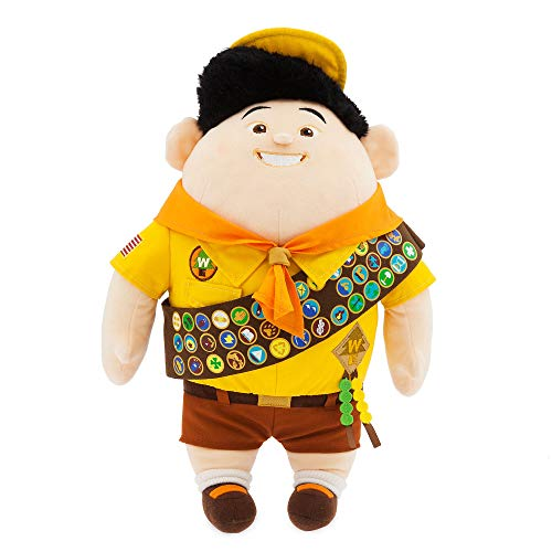 Disney Pixar Up Russell Boy Scout Soft Plush Medium 39cm Toy Doll