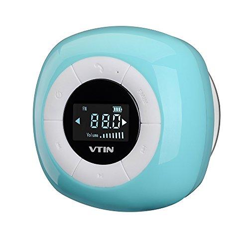 Altavoz Bluetooth Inalámbrico Relaxer Impermeable de VicTsing con Sonido Estéreo para HuaWei, XiaoMi, iPhone y Los Moviles con Bluetooth-Azul