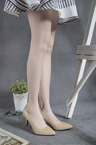 CFP , Sandales Compensées femme Beige