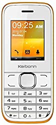 Karbonn K45+ Chota Jumbo Mobile Phone (White+Orange)