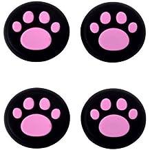 Fundas para las palancas de mandos de consolas de Canamite; 4piezas, rosa