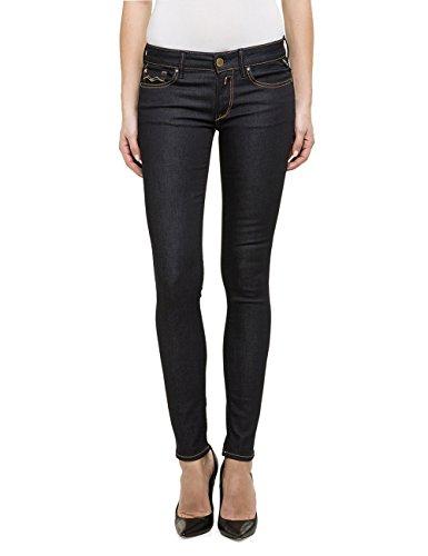 Replay Damen Skinny Jeanshose Luz Gr. W28/L32 (Herstellergröße: 28) Blau (Blue Denim 7) - Frauen Blue Denim