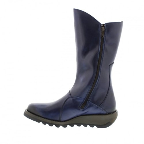 FLY London Mes 2, Bottes Hauts Femme Blue Rug