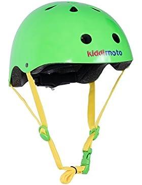 Kiddimoto 2he035m Guscio Esterno, Unisex bambini, Neon Verde, M