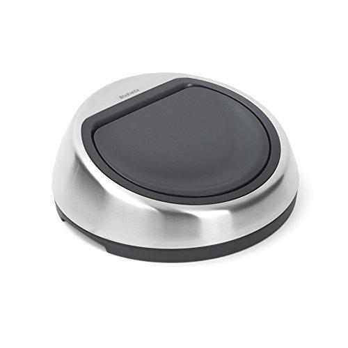 Brabantia Touch Bin Coperchio di Ricambio per Pattumiera, Inox Satinato, 50 L