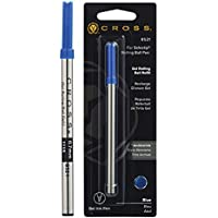 Cross - Recambio de tinta de gel para bolígrafos, color azul