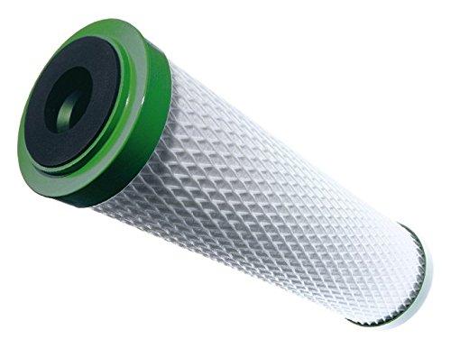"""Carbonit Wasserfilter Filterpatrone, weiß/grün, Außendurchmesser 60 mm, Länge 9 3/4\"""" BZW. 20\"""""""