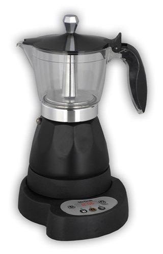Mx Onda MX-CE2254 Cafetera eléctrica con temporizador, 480 W, 0.3 litros, Negro