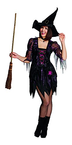 (Spider Witch Gr. 36 Karneval Fasching Mottoparty Halloween Kostüm Hexe)