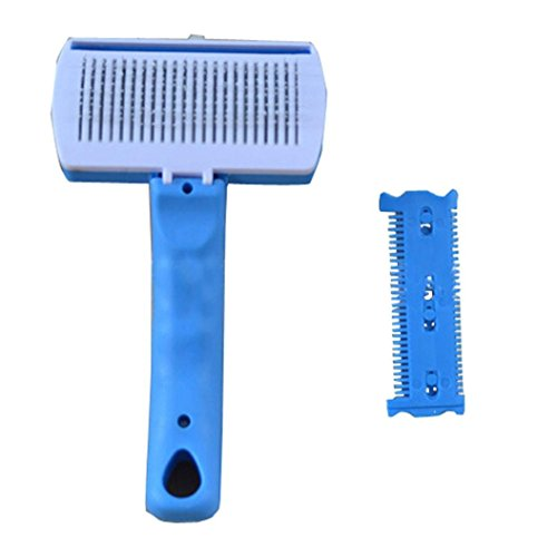 Ouneed® brosse/New Big Dog Long Short Hair Quick Clean deShedding Brush Tool Peigne Pet Fur