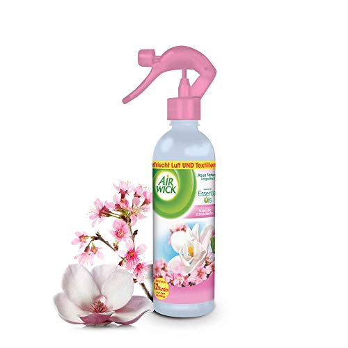 Air Wick Aqua Nature Spray, Magnolie & Kirschblüte, 4er Pack (4 x 345 ml)