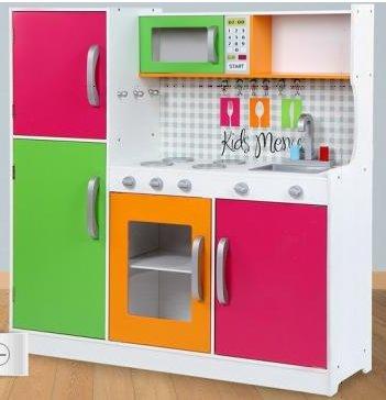 Preisvergleich Produktbild TZ-D1704 Spielküche Kinderküche aus Holz Deluxe- SABA