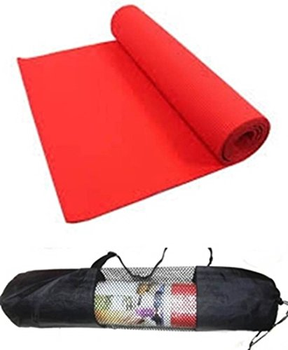 Thick Anti Skid/Non Slip Yoga Mat with yoga mat cover, 4 MM