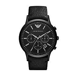 Emporio Armani Analogue Black Dial Men's Watch - AR2461