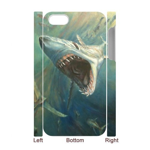 LP-LG Phone Case Of Deep Sea Shark For Iphone 5C [Pattern-6] Pattern-1