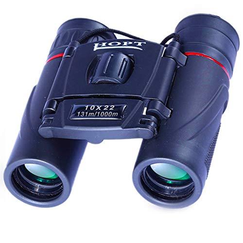 Liutao Ferngläser Tragbarer Taschenspiegel des 10x22 Fernglases HD Wenig Licht Nachtsicht Im Freien Mini Vogelspiegel Langlebig Ferngläser -