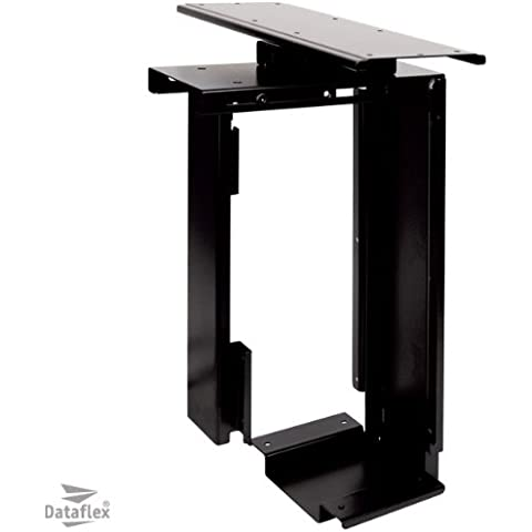 Dataflex Top Grip - Soporte (Desk-mounted, Escritorio, Negro, Stick & screw, Vertical, 450 x 200 x 300 mm)