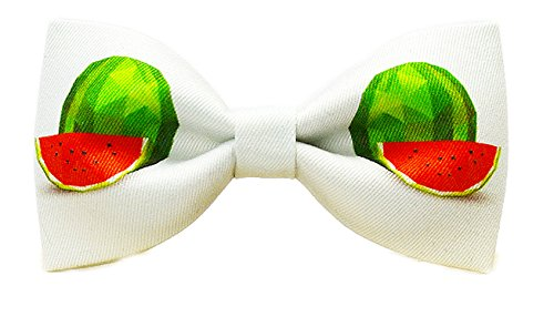 Cloud Rack Stampa Tessile Di Anguria Cotone Papillon (Bianco Verde Rosso)