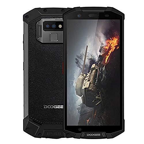 "DOOGEE S70-5.99"" FHD+ 4G Outdoor Smartphone, 5500mAh IP68/IP69K waterproof/dustproof/shockproof, Helio P23 6GB + 64GB, 16MP+5MP+12MP camera, Game Mode/wireless Black"