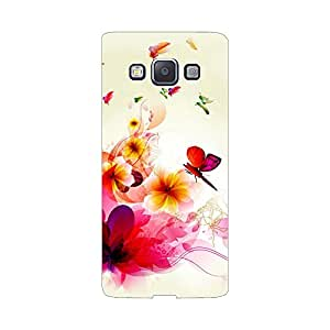 Digi Fashion Designer Back Cover with direct 3D sublimation printing for Samsung Galaxy A5