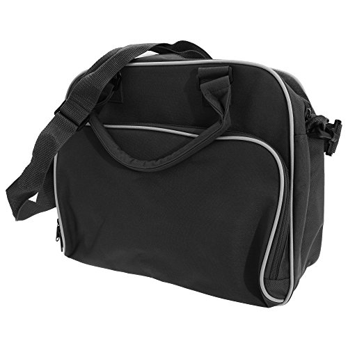 Bagbase Compact Junior Dance Messenger Tasche, 15 Liter Schwarz/Fuchsia