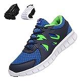 Sportschuhe Herren Casual Laufschuhe Leichte Gym Sneakers Fitness Turnschuhe männer Mesh Sport Schuhe Blau/weiß