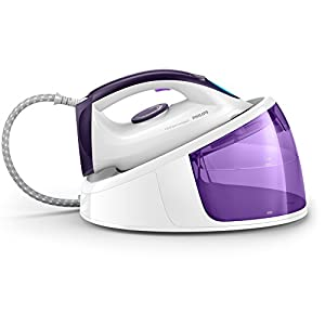 Philips Fast Care Compact GC6704/30 Dampfbügelstation (2400 W, 1,3 l) weiß/lila