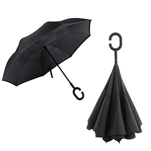 Beesuya Paraguas Plegable invertido