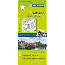 Carte Toulouse et ses alentours Michelin