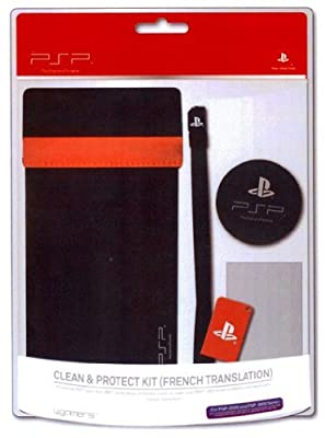 Officially Licensed Clean & Protect Kit - Red (PSP)