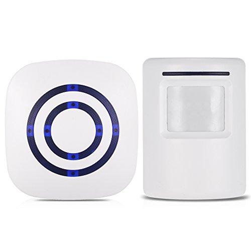KKmoon Timbre Puerta Doorbell Wireless 110dB PIR Sensor
