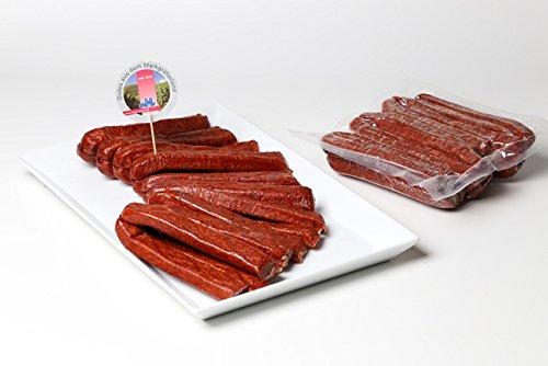Schwarzwälder Landjäger - 10 Paar (800 gr.) im Pack, handwerklich hergestellt, luftgetrocknet