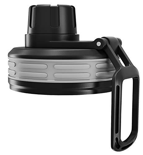 BeMaxx Fitness Ersatz Sportverschluss Trinkverschluss für Ihre Trinkflasche Active Flask Passend für alle 530ml und 950ml Modelle | BPA frei | Einhändiges Trinken | Sport, Outdoor, Radfahren