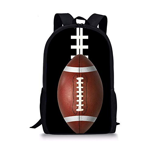 MLMHLMR Ball-Rucksack-kreative Baseball-Taschen-Studenten-Jugend-Freizeit-Reise-Tasche Schultasche für Kinder (Color : E)