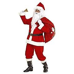 Idea Regalo - Widmann 1546S - Super Lusso Costume da Babbo Natale