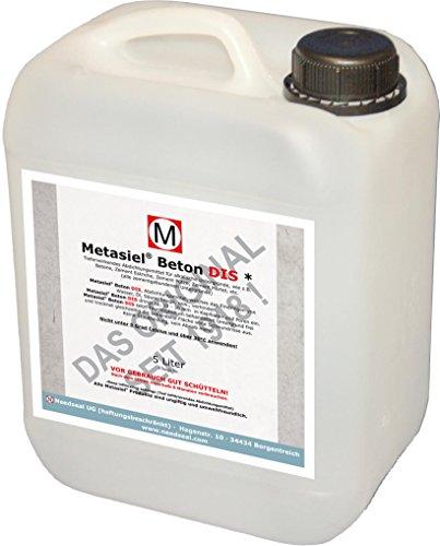 Metasiel Beton 5 Liter Imprägnierung, Abdichtung für Beton, Estrich, Mörtel