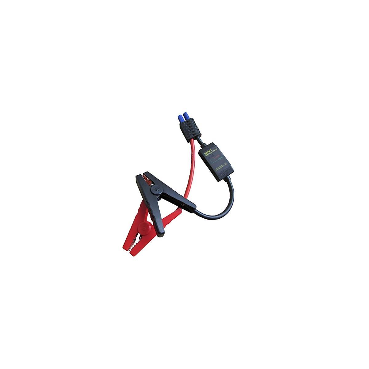 41MxvC LeFL. SS1200  - Batería portátil de reemplazo de arranque cable inteligente para arranque portátil cargador inteligente batería cable clips