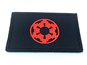Imperial Forces Cog Rouge Cosplay Star Wars Brodé Patch Airsoft