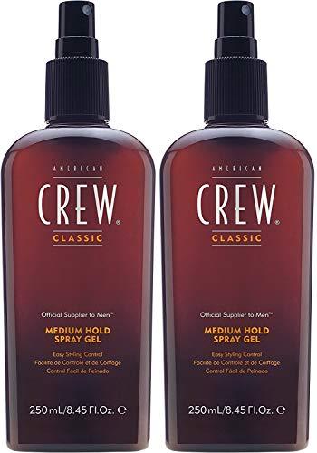 American Crew 2 er Pack American Crew Medium Hold Spray Gel 250 ml -