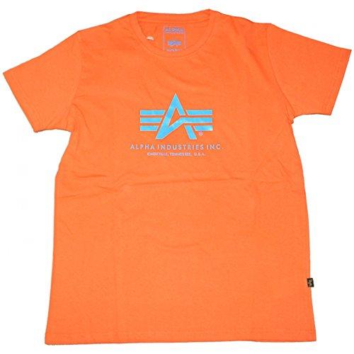 Alpha Industries Basic Logo Shirt Orange